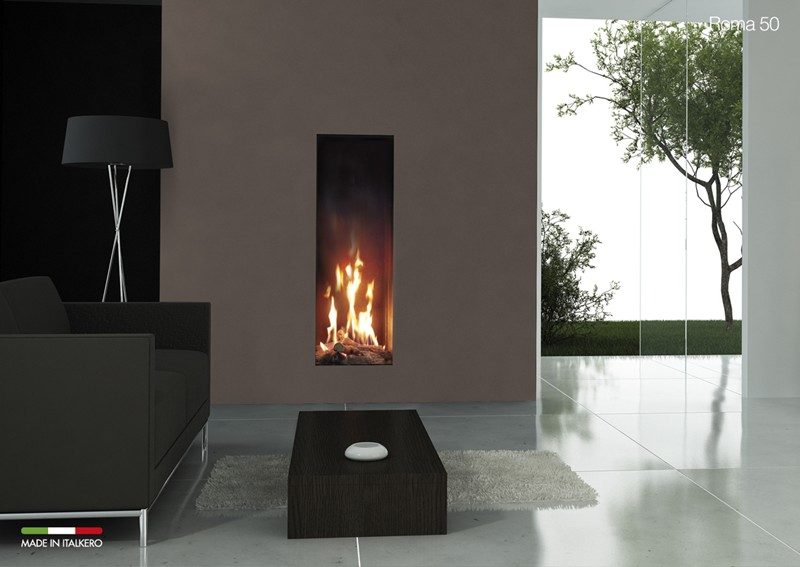 Tall Narrow Gas Fireplace Fireplaces