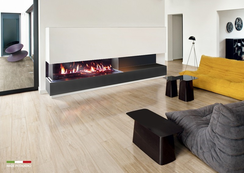 3 Sided Fireplace Size Fireplaces